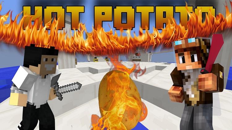 Hot-Potato-Map-for-Minecraft-Logo