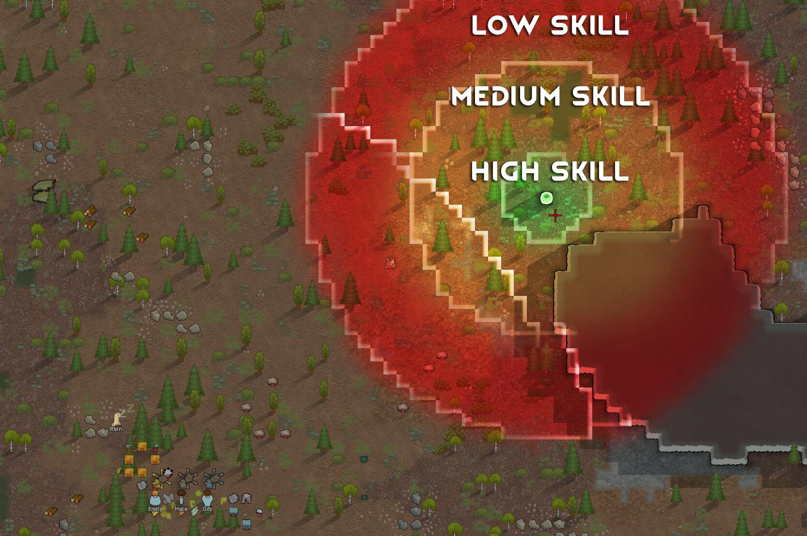 Rimworld - Точность минометов / Mortar Accuracy