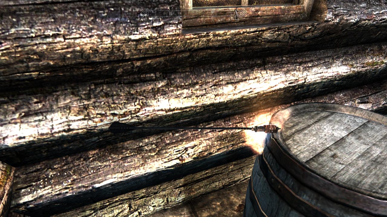 Skyrim - Огненные стрелы / Fire Arrows