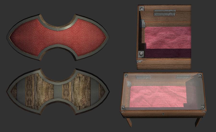 Skyrim - Стойки для оружия в HD качестве