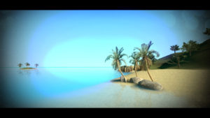 500272362_preview_3 - Beach with island far back