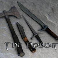 Skyrim-оружие-хоббитов