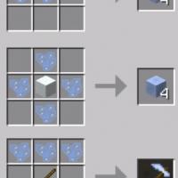 Minecraft — Ледяные осколки / Ice Shards Mod