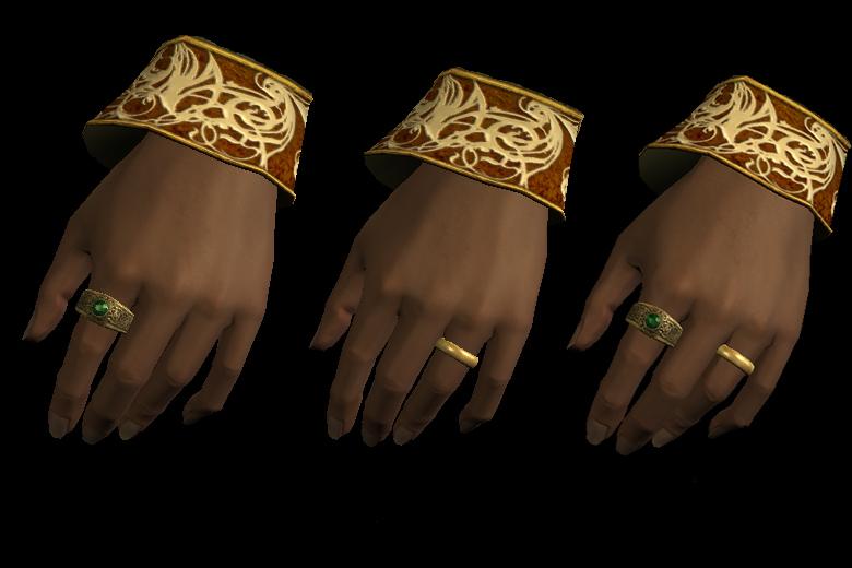 Skyrim - Кольца на левую руку/Left Hand Rings