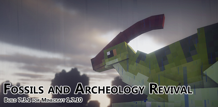 Minecraft - Ископаемые и археология / Fossils and Archeology Revival Mod