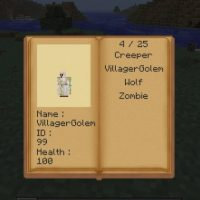 Minecraft - Словарь мобов/Mob dictionary mod