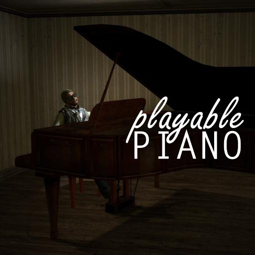 Garry's Mod 13 - Рабочее пианино
