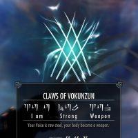 Skyrim - Когти Вокунзуна / Claws of Vokunzun