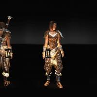 Skyrim - Фонарь на пояс / Wearable Lanterns