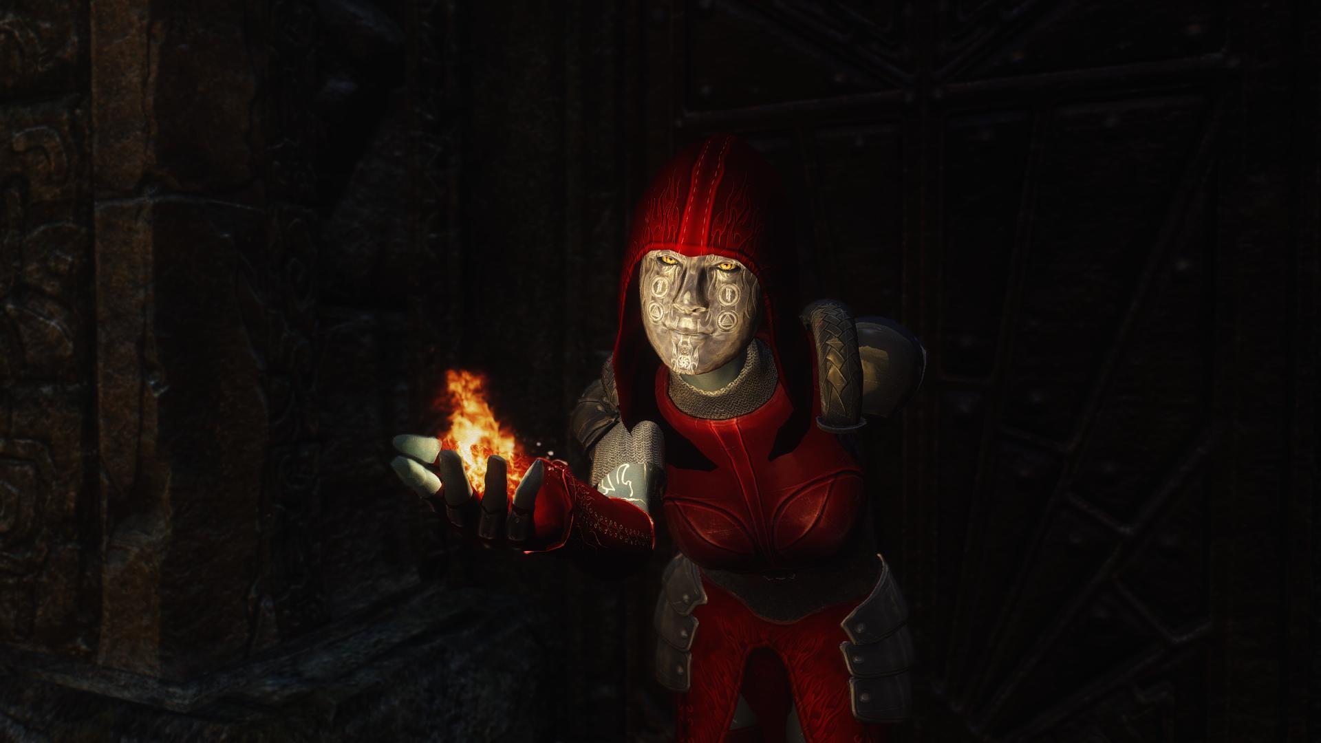 Skyrim - Броня мага-поджигателя / Pyro Mage Armor