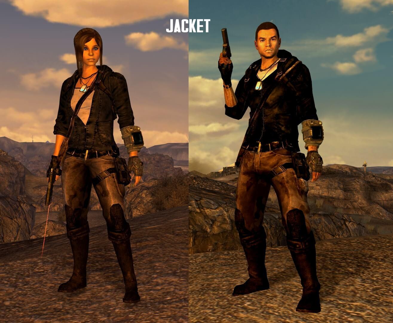 Fallout: New Vegas - Бродячий наёмник / Mercenary Wanderer