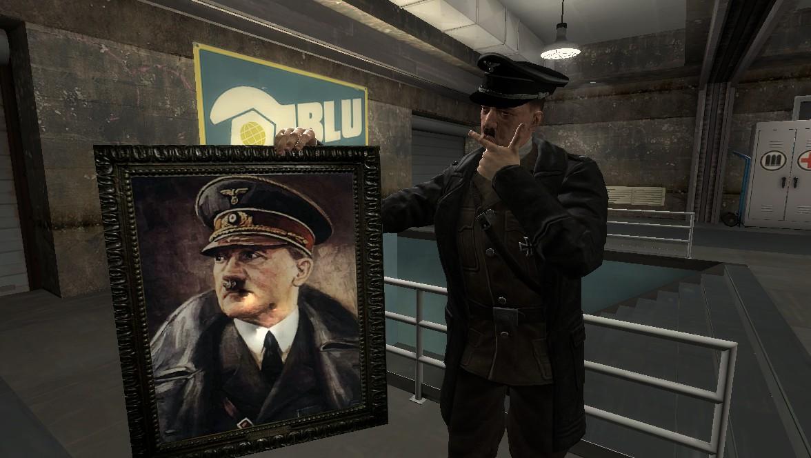 Garry's Mod 13 - Портрет Гитлера