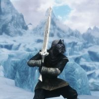 Skyrim - Древнее оружие Аэдра / Ancient Aedra Weapon Set