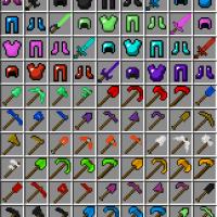Minecraft - Новые драгоценные камни + броня и оружие / Gems+ Mod