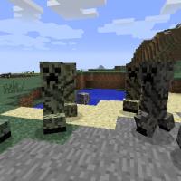 Minecraft - Криперы-хамелеоны / Chameleon Creepers Mod