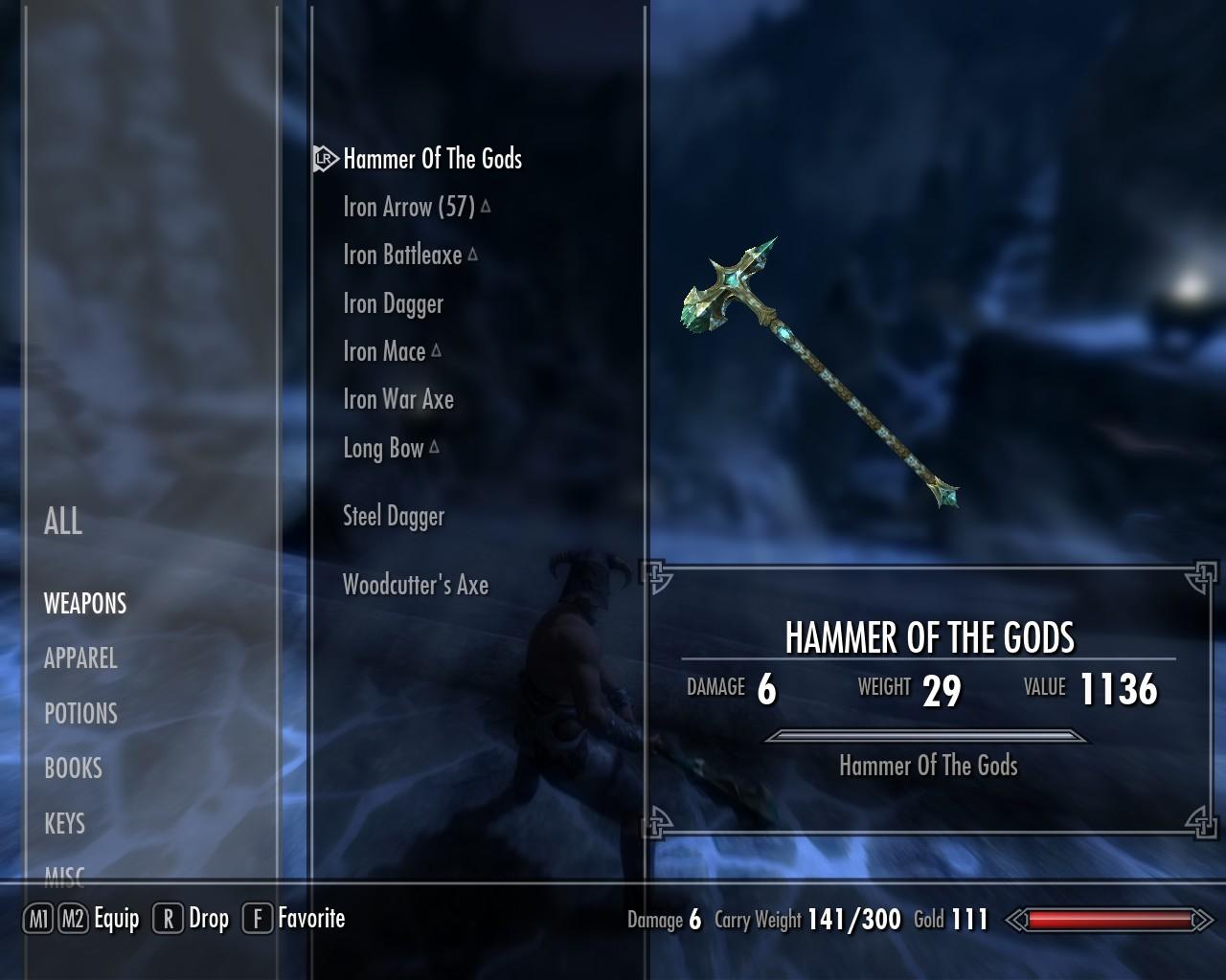 Skyrim - Молот Богов / The Hammer Of The Gods