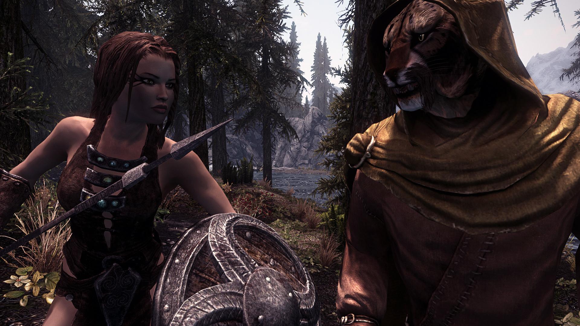 Skyrim - Женское древнее нордское снаряжение / Ancient Nord Female Skimppier