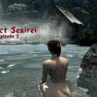 Skyrim - Проект Сэкирэй: сексуальные японские одежды / Project Sekirei Sexy japanese clothes
