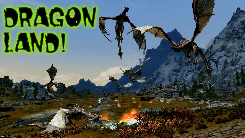 Skyrim - Драконье доминирование / Dragon Takeover