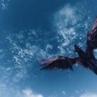 Skyrim - Пернатый дракон Бегемот / Behem The Feathered Dragon
