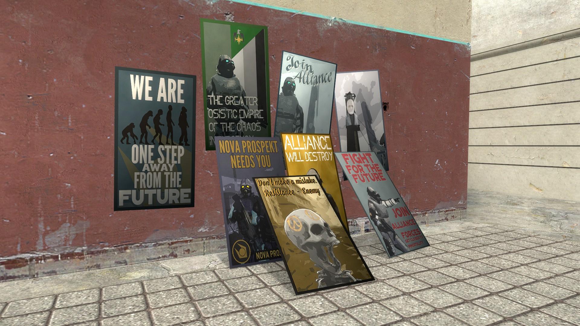 Garry's Mod 13 - Постеры с пропагандой