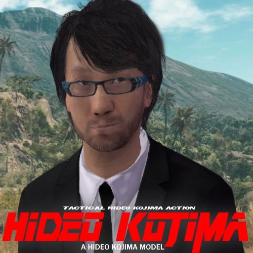 Garry's Mod 13 - Хидео Кодзима (модель игрока)