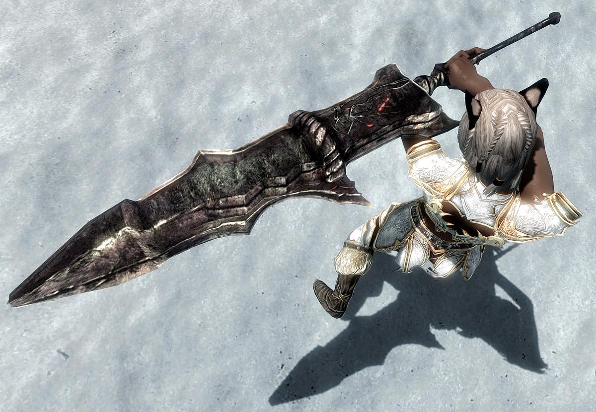 Skyrim - Огромное и прекрасное оружие от Хентая / Big and Beautiful Weapons by Hentai