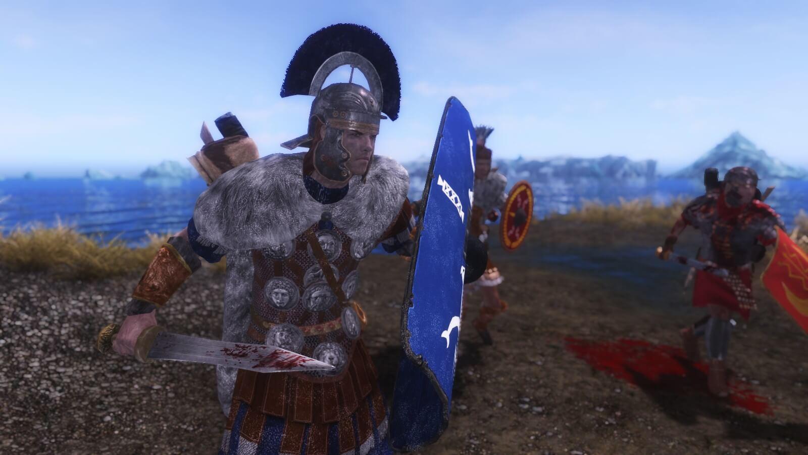 Skyrim - Броня и оружие римлян / Roman Imperial armor and weapons