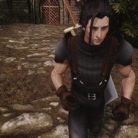 Skyrim - Подборка причёсок и одежды персонажей Final Fantasy VII