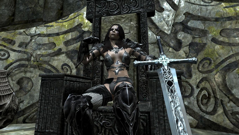 Skyrim - Сборка оружия от Хентая