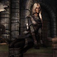 Skyrim - Женская броня боевого мага / Battlemage Armour (Female)