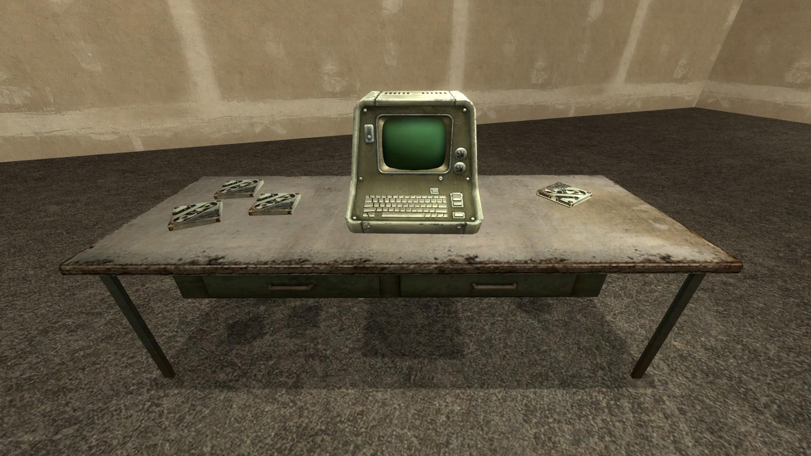 Garry's Mod 13 - Терминал для секретных сообщений из Fallout.