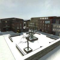 "Garry's Mod 13 - Зимняя карта ""rp_downtown_winter"" v.2"