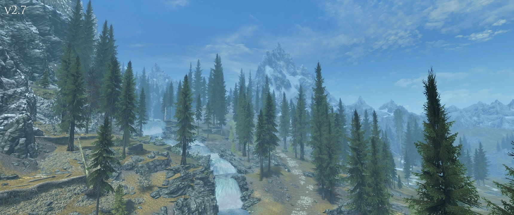 Skyrim SE - Улучшенная флора Скайрима