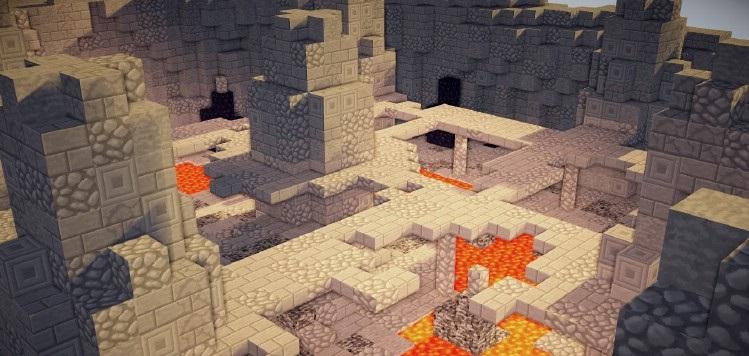 "Minecraft - Карта ""Горячая картошка"" / Hot Potato Map"