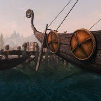 Skyrim SE - Прекрасные лодки Скайрима (новые текстуры)