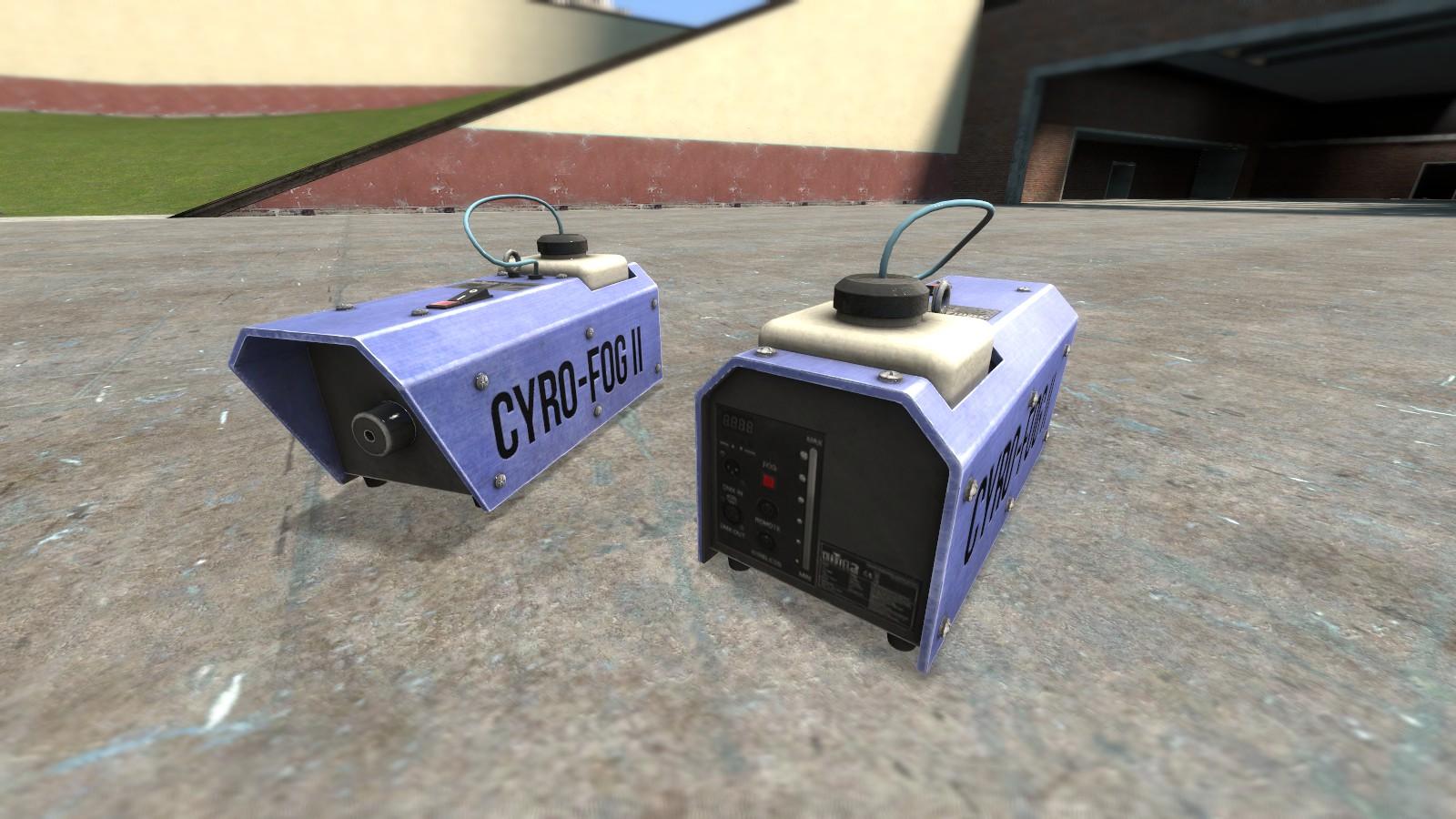 Garry's Mod 13 - Дым-машина
