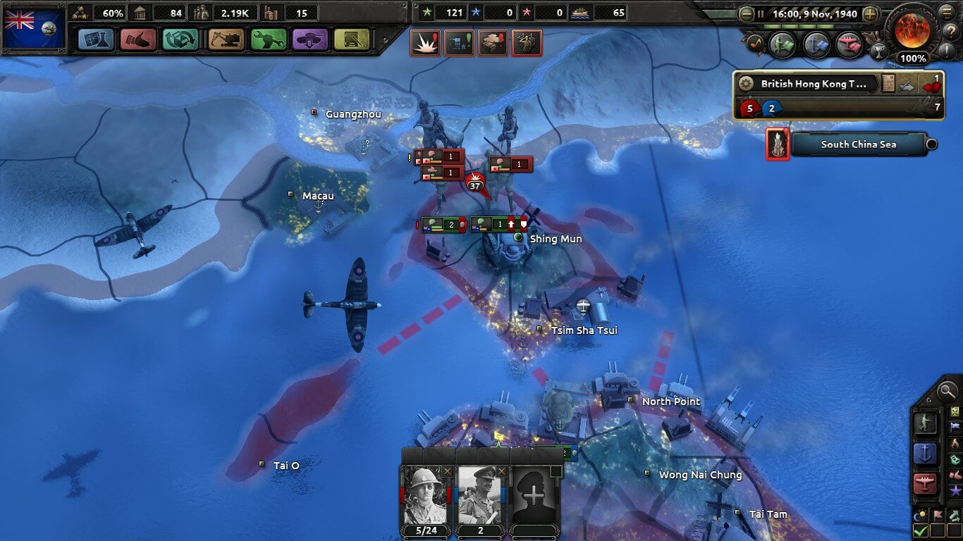 Hearts of Iron IV - Исторический Гонконг