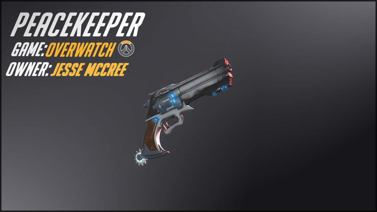 Garry's Mod 13 - Револьвер Маккри из Overwatch