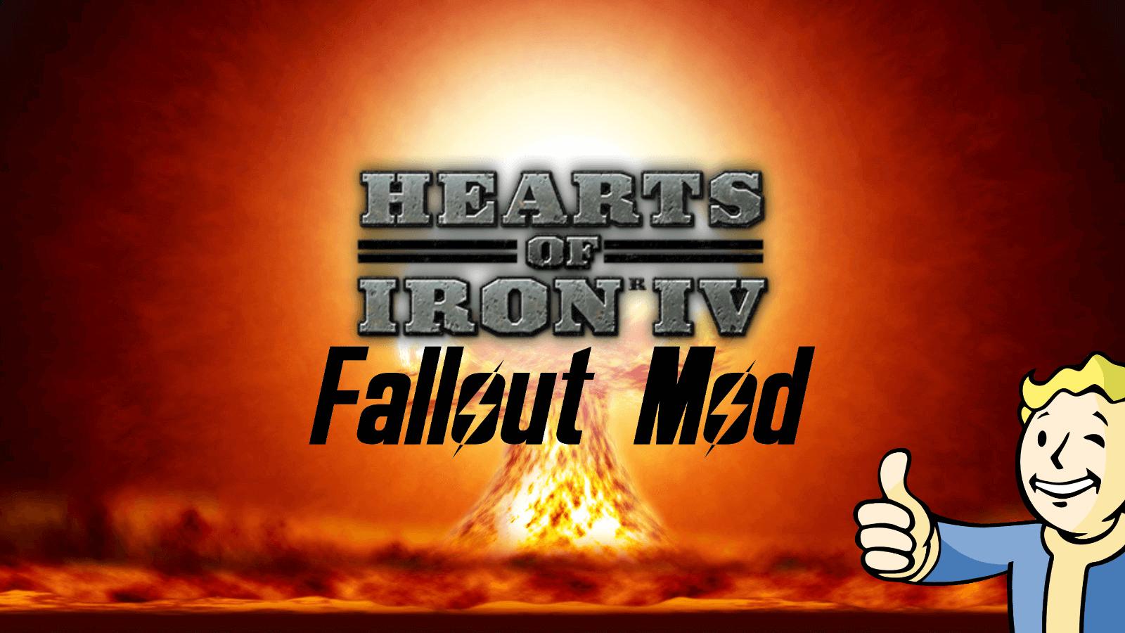 Hearts of Iron IV - Тоска по Старому Миру - вселенная Fallout.