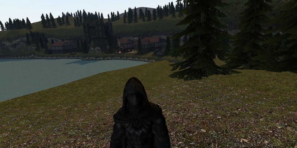 Garry's Mod 13 - Соловей из Скайрима (модель игрока и NPC)