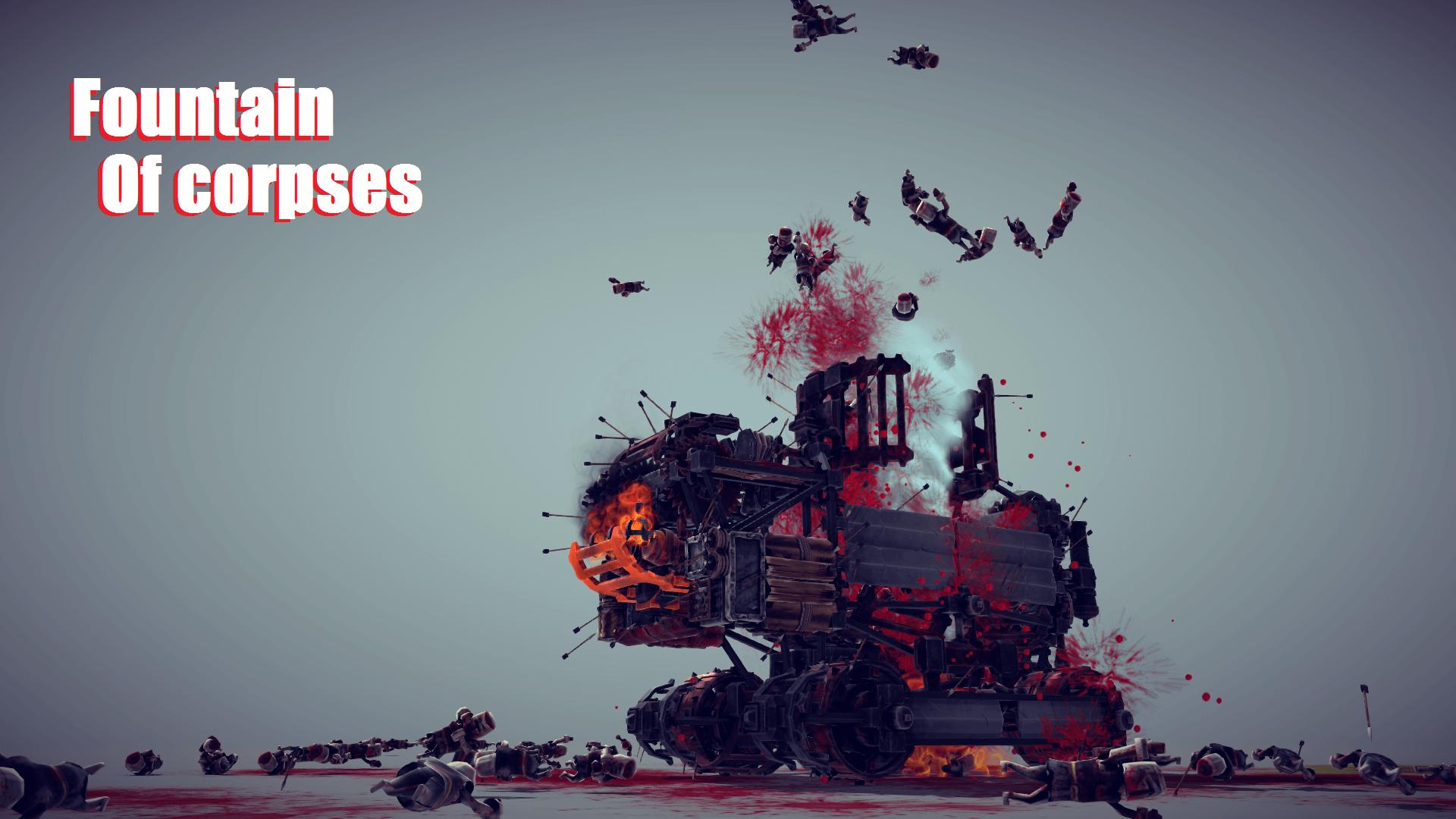 Besiege - Вакуумный убийца