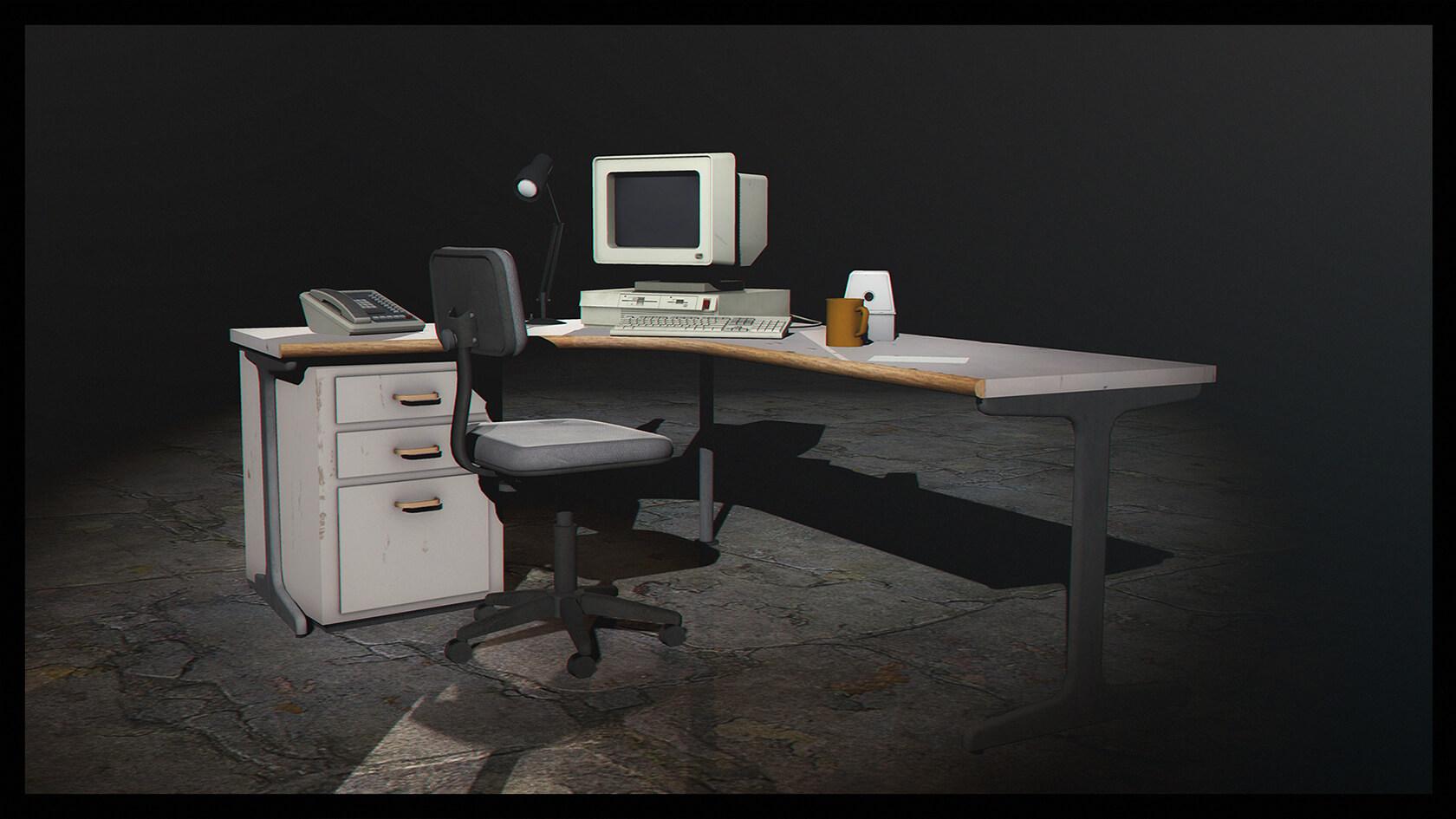 Garry's Mod 13 - Офисные пропы из Stanley Parable
