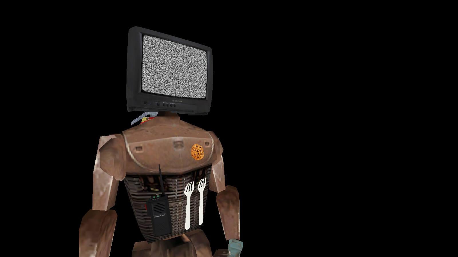 Garry's Mod 13 - Джеллик (модель игрока)