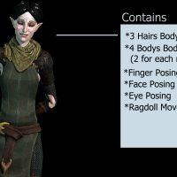 Garry's Mod 13 - Мерриль из Dragon Age II (рэгдолл)