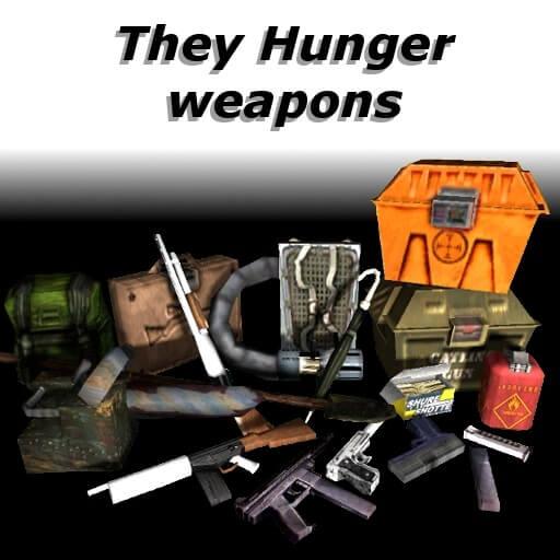 Garry's Mod 13 - Оружие из They Hunger