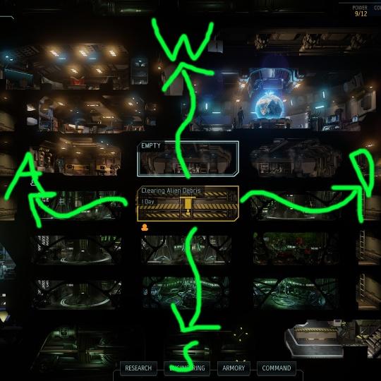 """XCOM 2 - Восстановленная навигация по """"Мстителю"""""""
