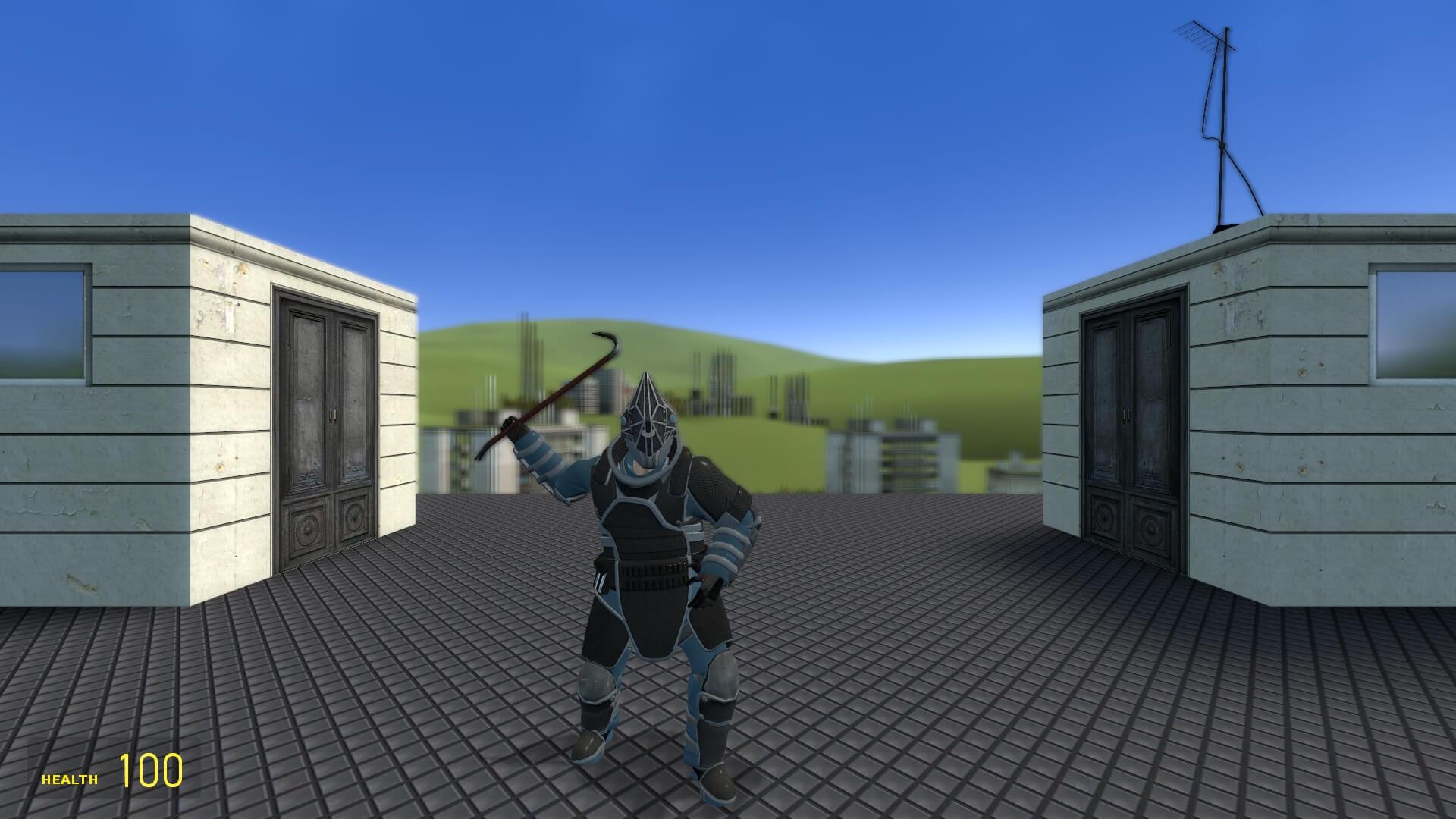 Garry's Mod 13 - Juggernaut из GTA Online (игровая модель, рэгдолл и NPC)