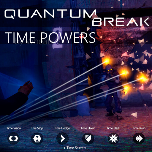 Garry's Mod 13 - Quantum Break: Time Powers / Силы времени