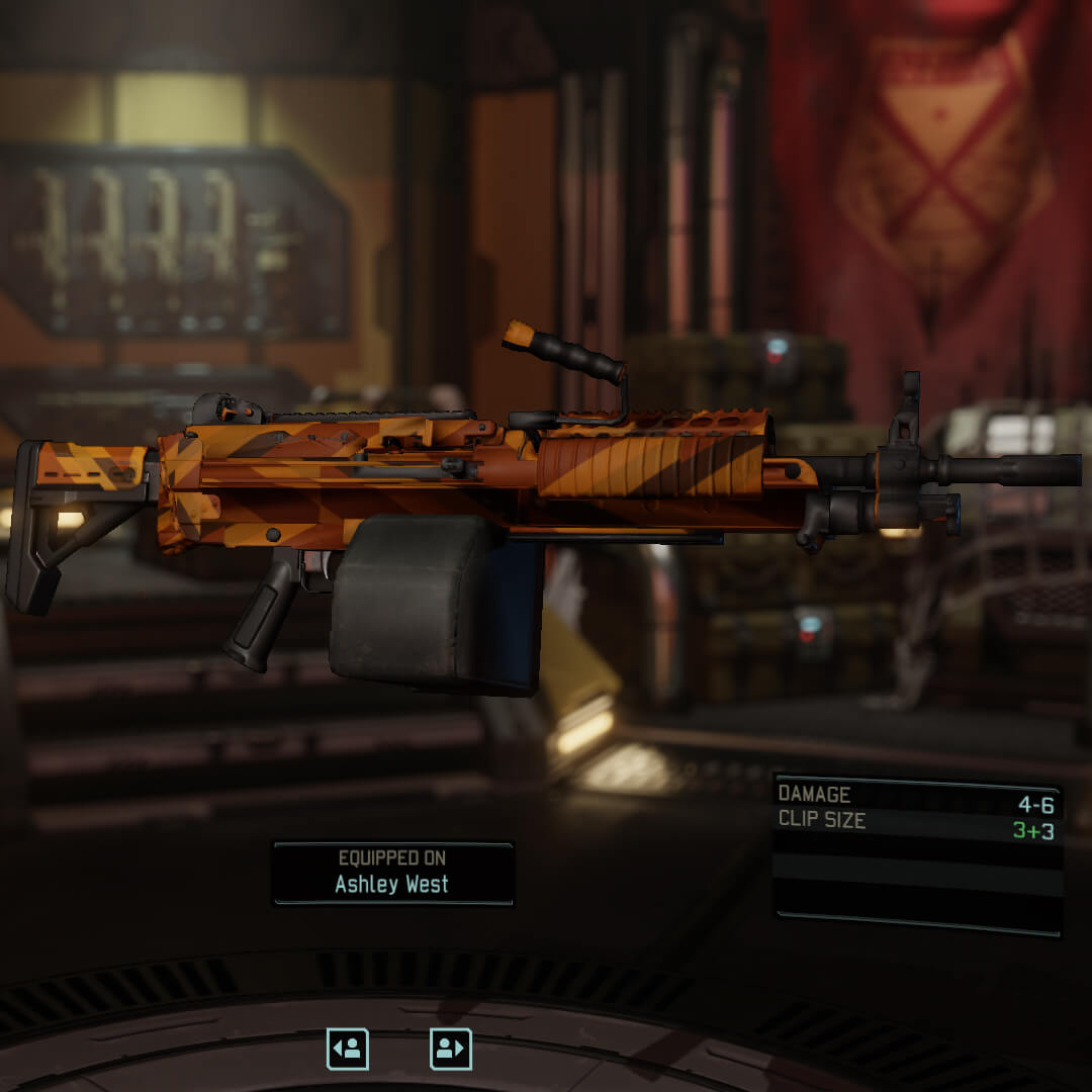XCOM 2 - Пулемет M249
